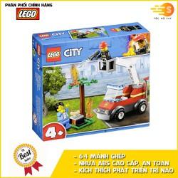 Bộ đồ chơi lắp ráp cứu hỏa tiệc nướng BBQ 64 mảnh Lego City 60212