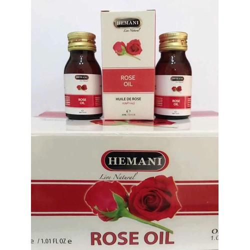 Tinh dầu hoa hồng rose oil hemani dubai 30ml - 12026956 , 19637802 , 15_19637802 , 250000 , Tinh-dau-hoa-hong-rose-oil-hemani-dubai-30ml-15_19637802 , sendo.vn , Tinh dầu hoa hồng rose oil hemani dubai 30ml