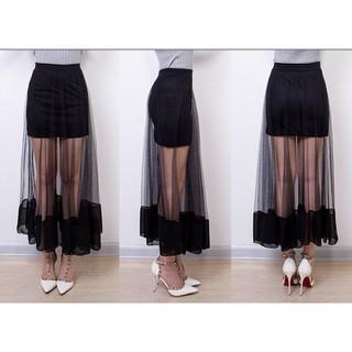 Chân váy lưới dài - CHANVAYMAXXI thumbnail