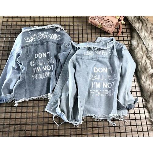 Áo khoác jean nữ cực chất