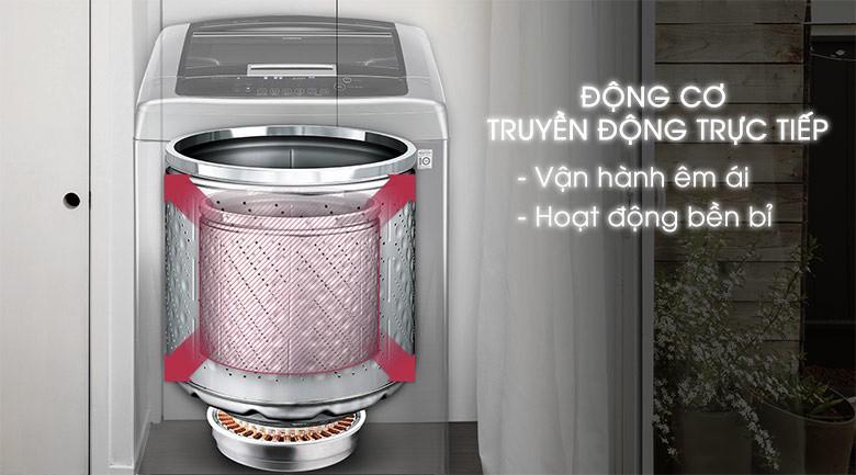 Động cơ truyền động trực tiếp - Máy giặt LG Inverter 10 kg T2310DSAM