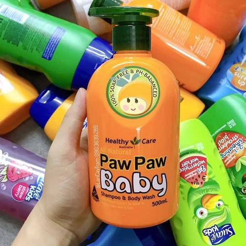 Sữa tắm gội cho bé paw paw baby healthy care 500ml - 12013566 , 19618765 , 15_19618765 , 350000 , Sua-tam-goi-cho-be-paw-paw-baby-healthy-care-500ml-15_19618765 , sendo.vn , Sữa tắm gội cho bé paw paw baby healthy care 500ml