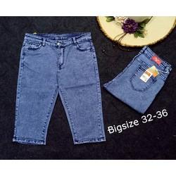Quần Jean Nữ Lửng Size Đại