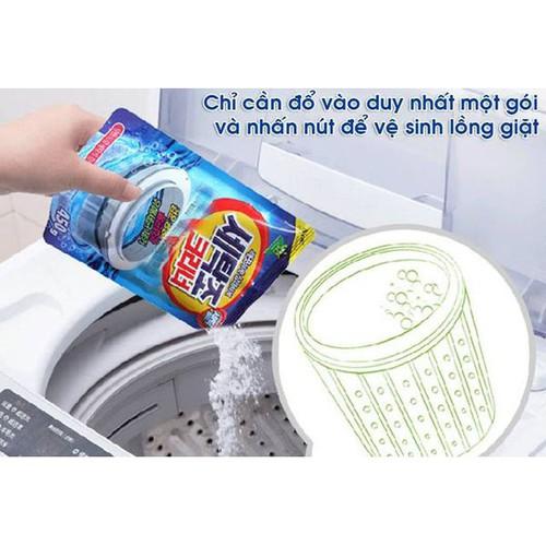Combo 5 túi bột tẩy vệ sinh lồng máy giặt - 19233058 , 20939793 , 15_20939793 , 219000 , Combo-5-tui-bot-tay-ve-sinh-long-may-giat-15_20939793 , sendo.vn , Combo 5 túi bột tẩy vệ sinh lồng máy giặt