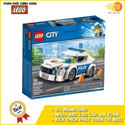 Bộ đồ chơi lắp ráp xe tuần tra cảnh sát 92 mảnh Lego City 60239