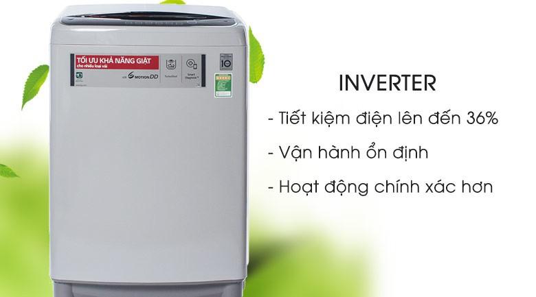 Inverter - Máy giặt LG Inverter 10 kg T2310DSAM