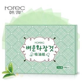 1 gói 100 tờ giấy thấm dầu Rorec - 2297391974