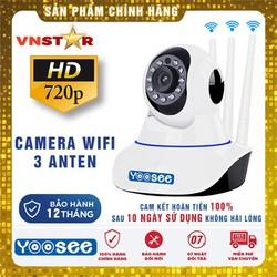 Camera IP YOOSEE HD 3 Anten + Thẻ Nhớ Chuyên Camera