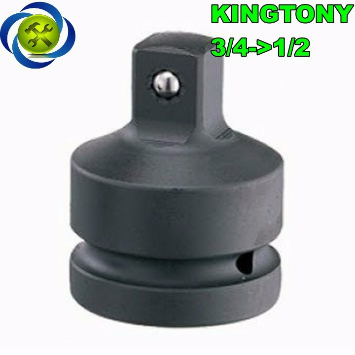 Đầu chuyển đen 3 phần 4 sang 1 phần 2 Kingtony 6864 1