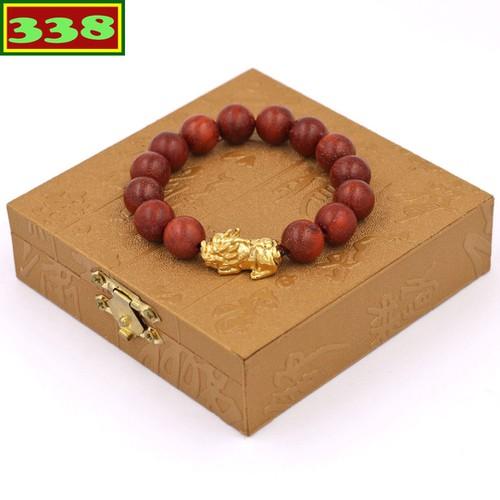 Vòng đeo tay tỳ hưu inox vàng - chuỗi đeo tay gỗ đỏ 12 ly vgothv12 kèm hộp gỗ - 12015844 , 19622754 , 15_19622754 , 160000 , Vong-deo-tay-ty-huu-inox-vang-chuoi-deo-tay-go-do-12-ly-vgothv12-kem-hop-go-15_19622754 , sendo.vn , Vòng đeo tay tỳ hưu inox vàng - chuỗi đeo tay gỗ đỏ 12 ly vgothv12 kèm hộp gỗ