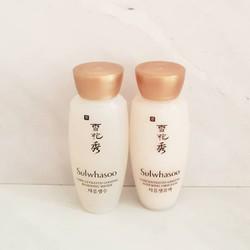 Cặp nước hoa hồng và sữa dưỡng nhân sâm Sulwhasoo