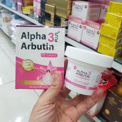 Combo bộ sản phẩm làm trắng da alpha arbutin thạilan