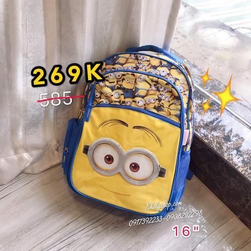 Balo trẻ em 16inch hình minions với nhiều minion nhỏ siêu đáng yêu màu vàng xanh dương dành cho học sinh ,bé trai - blmi16vx - 33x15x43cm - 12024444 , 19634398 , 15_19634398 , 538000 , Balo-tre-em-16inch-hinh-minions-voi-nhieu-minion-nho-sieu-dang-yeu-mau-vang-xanh-duong-danh-cho-hoc-sinh-be-trai-blmi16vx-33x15x43cm-15_19634398 , sendo.vn , Balo trẻ em 16inch hình minions với nhiều minio