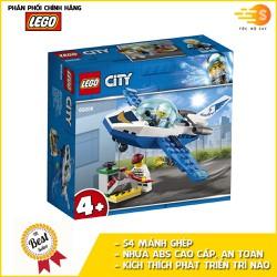 Bộ đồ chơi lắp ráp máy bay tuần tra cảnh sát 54 mảnh Lego City 60206