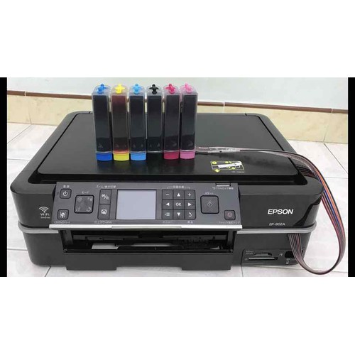 Máy in màu epson 802a in copy scan wifi hệ 6 màu mực
