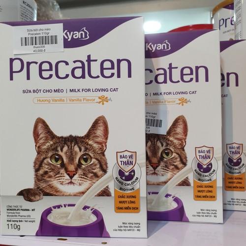 Combo 3 hộp sữa bột cho mèo của dr.kyan được sản xuất theo qui trình của mỹ 110g