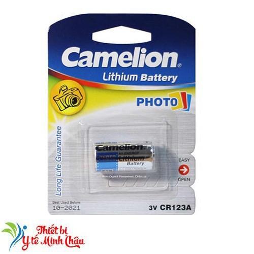 Pin máy ảnh cr123 camelion
