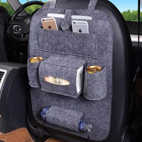 Nhadep com túi đựng đồ nhiều ngăn treo sau ghế ô tô tiện dụng