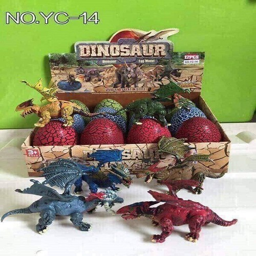 Set 12 trứng khủng long loại to-set 12 trứng khủng long - trứng khủng long đồ