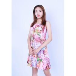Váy đầm Lanh _Tole Xước Vicci XC01 nhiều họa tiết