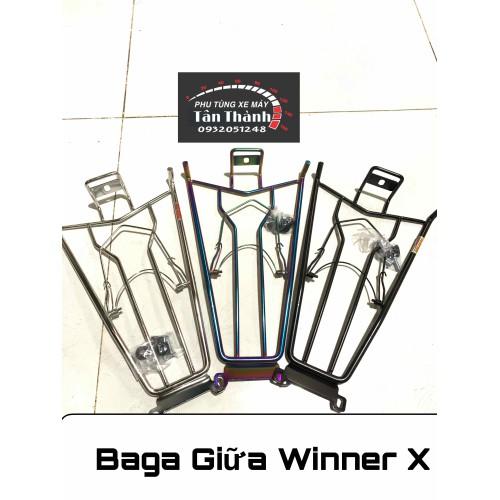 Baga giữa winner x inox - inox đen - 7 màu- xanh titan