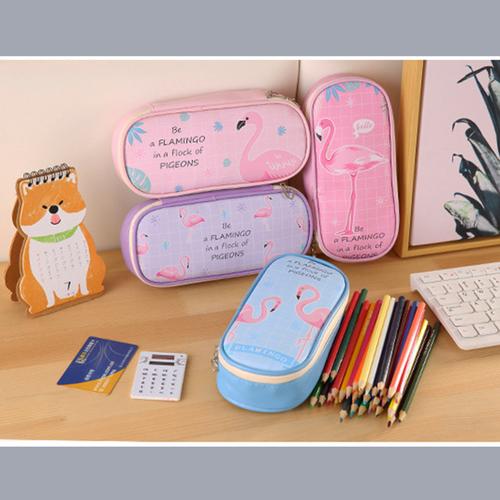 Hộp bút hồng hạc be flamingo đựng bút viết máy tính chống thấm dễ thương - 12543505 , 20359052 , 15_20359052 , 50000 , Hop-but-hong-hac-be-flamingo-dung-but-viet-may-tinh-chong-tham-de-thuong-15_20359052 , sendo.vn , Hộp bút hồng hạc be flamingo đựng bút viết máy tính chống thấm dễ thương