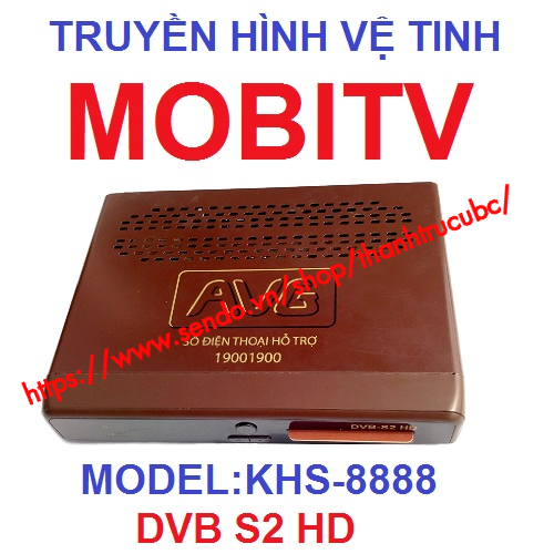 Truyền hình mobitv vệ tinh mobitv s2 khs-8888