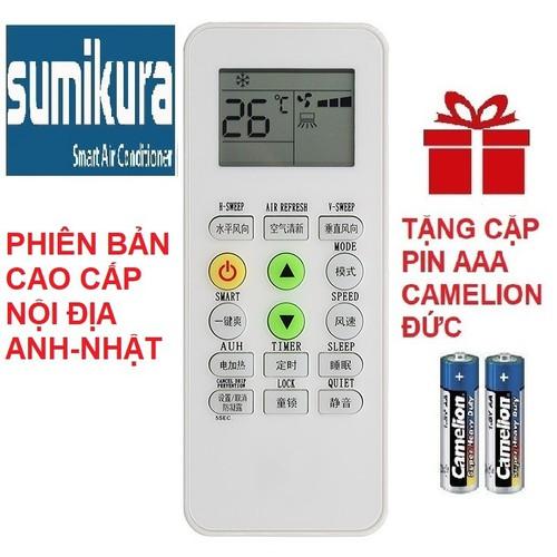 Remote điều khiển máy lạnh điều hòa sumikura mẫu 6 - 12546446 , 20362853 , 15_20362853 , 79000 , Remote-dieu-khien-may-lanh-dieu-hoa-sumikura-mau-6-15_20362853 , sendo.vn , Remote điều khiển máy lạnh điều hòa sumikura mẫu 6