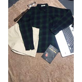 áo sơmi sọc from rộng - a90 thumbnail