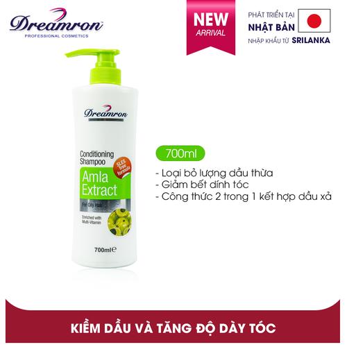 Dầu gội và dầu xả tinh chất Amla Dreamron - Amla Conditoning Shampoo 700ml
