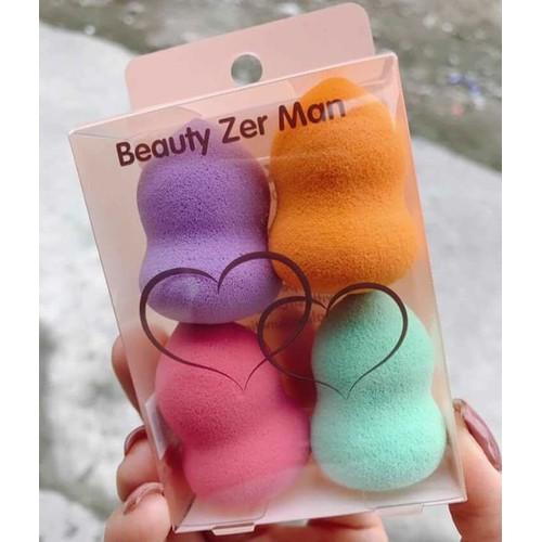 Hộp 4 mút tán nền hồ lô mỏng mịn beauty zer man - 12549557 , 20367236 , 15_20367236 , 85000 , Hop-4-mut-tan-nen-ho-lo-mong-min-beauty-zer-man-15_20367236 , sendo.vn , Hộp 4 mút tán nền hồ lô mỏng mịn beauty zer man