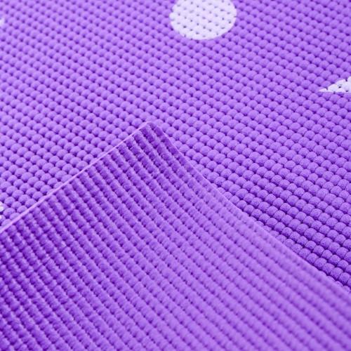 Xả hết lô thảm tập yoga họa tiết có túi đựng 60cm x 170cm loại chất liệu cao su đàn hồi tốt ko phải loại xốp nhẹ