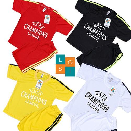 FREESHIP Combo 4 bộ đồ đá banh cho bé trai từ 2 -14 tuổi, Bộ quần áo thể thao cho trẻ từ 16-46kg - Set 4 bộ quần áo đá banh vải thun mè co dãn thoáng mát dành cho bé trai và gái - LOSI - LSCLDODEVATR - 11681919 , 20361967 , 15_20361967 , 325000 , FREESHIP-Combo-4-bo-do-da-banh-cho-be-trai-tu-2-14-tuoi-Bo-quan-ao-the-thao-cho-tre-tu-16-46kg-Set-4-bo-quan-ao-da-banh-vai-thun-me-co-dan-thoang-mat-danh-cho-be-trai-va-gai-LOSI-LSCLDODEVATR-15_20361967 ,