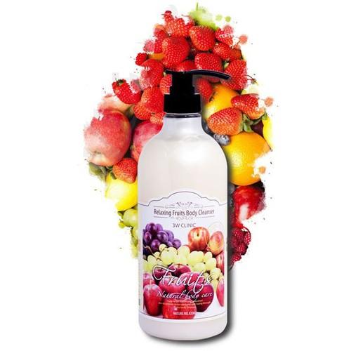 [ chính hãng ] sữa tắm hương trái cây tổng hợp 3w clinic hàn quốc 1000ml - 12536804 , 20350148 , 15_20350148 , 278000 , -chinh-hang-sua-tam-huong-trai-cay-tong-hop-3w-clinic-han-quoc-1000ml-15_20350148 , sendo.vn , [ chính hãng ] sữa tắm hương trái cây tổng hợp 3w clinic hàn quốc 1000ml