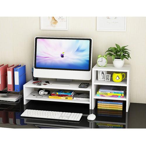 Kệ gỗ để màn hình 2 tầng, co ngăn tủ phụ bên cạnh - 11681942 , 20361994 , 15_20361994 , 550000 , Ke-go-de-man-hinh-2-tang-co-ngan-tu-phu-ben-canh-15_20361994 , sendo.vn , Kệ gỗ để màn hình 2 tầng, co ngăn tủ phụ bên cạnh