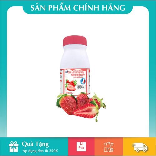 Sữa tươi pháp hương dâu 250ml