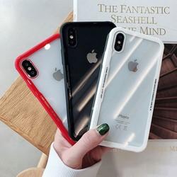 Ốp lưng Iphone – Ốp điện thoại dẻo trong viền màu cho Iphone 7plus, 8plus, X, Xs Max, Ip11, Ip11 Pro max, ip 12, 12 pro Max