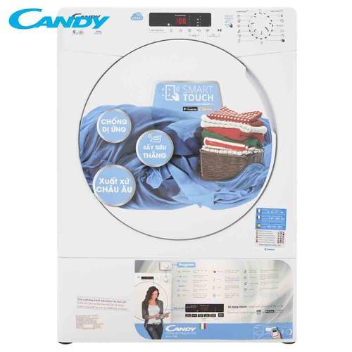 Máy sấy quần áo thông hơi smart touch candy 9.0kg cs v9df-s trắng - 12548816 , 20366394 , 15_20366394 , 5998000 , May-say-quan-ao-thong-hoi-smart-touch-candy-9.0kg-cs-v9df-s-trang-15_20366394 , sendo.vn , Máy sấy quần áo thông hơi smart touch candy 9.0kg cs v9df-s trắng