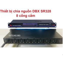 Thiết bị quản lý nguồn dbx SR 328-8 cổng cắm âm thanh riêng biệt