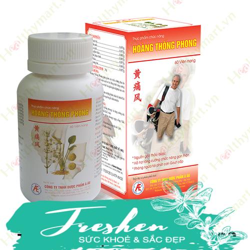 Hoàng thống phong - phòng và hỗ trợ điều trị bệnh gout