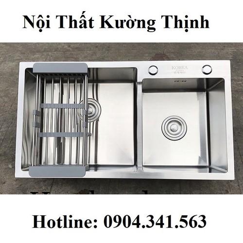 Chậu rửa bát korea 7243l - 12551199 , 20369123 , 15_20369123 , 2800000 , Chau-rua-bat-korea-7243l-15_20369123 , sendo.vn , Chậu rửa bát korea 7243l