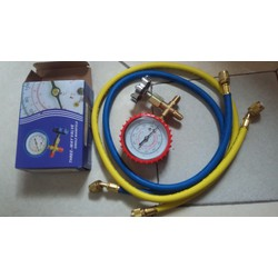 Bộ đồng hồ và dây nạp ga điều hòa ,tủ lạnh