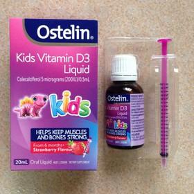 Vitamin D3 cho bé 6m hàng xách tay Úc  - vitamin D3 kids