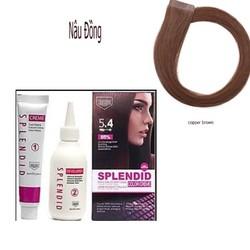 Thuốc nhuộm tóc SPLENDID Color Creme 5.4 nâu đồng