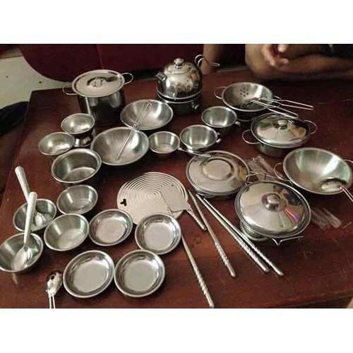 Bộ đồ chơi nấu ăn inoc 40 chi tiết - 12554015 , 20372823 , 15_20372823 , 350000 , Bo-do-choi-nau-an-inoc-40-chi-tiet-15_20372823 , sendo.vn , Bộ đồ chơi nấu ăn inoc 40 chi tiết