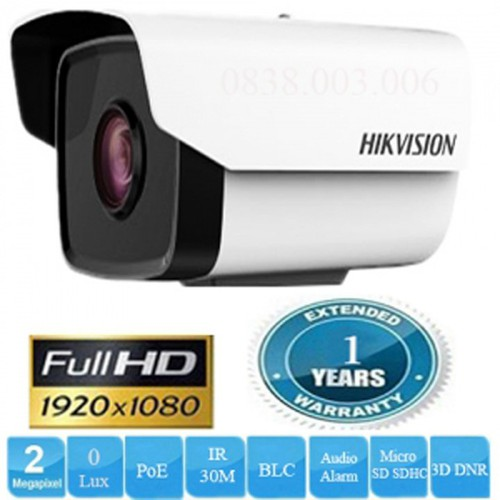 Camera IP HIKVISION DS-2CD2T21G0-IS Full HD - 11598947 , 20387137 , 15_20387137 , 3340000 , Camera-IP-HIKVISION-DS-2CD2T21G0-IS-Full-HD-15_20387137 , sendo.vn , Camera IP HIKVISION DS-2CD2T21G0-IS Full HD