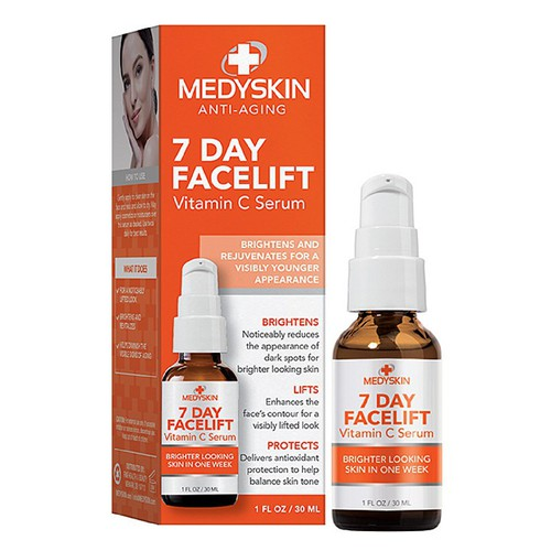 Dưỡng da medyskin anti-aging 7 day facelift vitamin c serum, 30ml - 12561697 , 20383142 , 15_20383142 , 470000 , Duong-da-medyskin-anti-aging-7-day-facelift-vitamin-c-serum-30ml-15_20383142 , sendo.vn , Dưỡng da medyskin anti-aging 7 day facelift vitamin c serum, 30ml