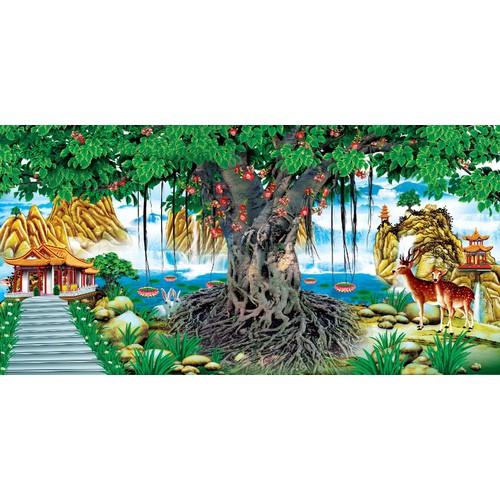 Tranh dán tường  vtc cây bồ đề ud0281c - 12567034 , 20390481 , 15_20390481 , 449000 , Tranh-dan-tuong-vtc-cay-bo-de-ud0281c-15_20390481 , sendo.vn , Tranh dán tường  vtc cây bồ đề ud0281c