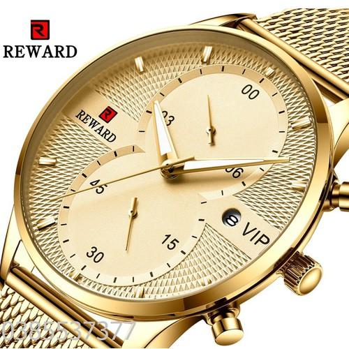 Đồng hồ nam chính hãng reward 82001, bảo hành 1 năm