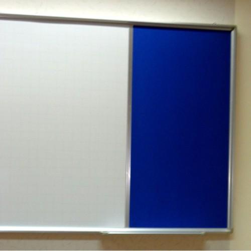 Bảng combo từ trắng + ghim nỉ, kt: 0.9x1.2m
